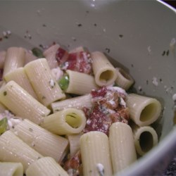 Delicious Country Pasta with Mozzarella