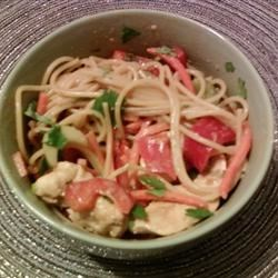 Chicken Noodle Salad with Peanut-Ginger Dressing Photos ...