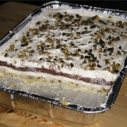 Piggy Pudding Dessert Cake Recipe - Sinfully delicious and we have also made this with pistachio pudding and it is equally sinful.