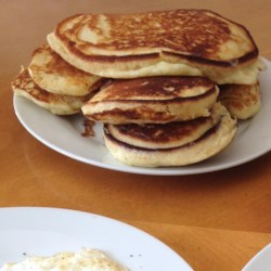 Spiced Maple Pancakes Recipe - Maple syrup, cinnamon, nutmeg, and cloves spice up these pancakes for a new twist on morning pancakes.