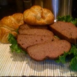 Slow Cooker Sausage 'n' Grits Meatloaf