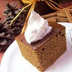 Favorite Old Fashioned Gingerbread Recipe - This is everyone's holiday favorite, even the busy cooks, because it is so easy to make.