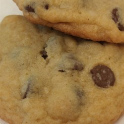 Healthier Award Winning Soft Chocolate Chip Cookies Recipe - This classic chocolate chip cookie recipe is made healthier by replacing half the butter with applesauce and adding raisins.