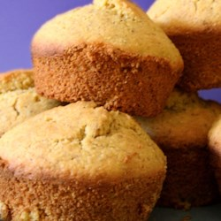 Vegan Corn Muffins Recipe - Who would have thought that egg-free and dairy-free muffins could be so delicious!