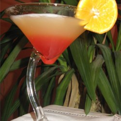 Bikini Martini Recipe - Take one swimming pool, add coconut rum, vodka, pineapple juice and grenadine.