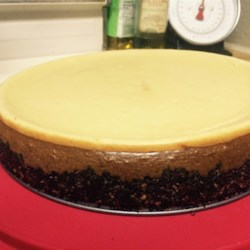 Sugar Free Mocha Cheesecake Recipe - For those of you who are watching  your sugar intake. Here's a delicious sugar free creamy rich cheesecake!