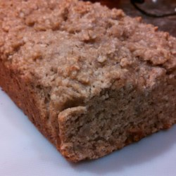 Vegan Banana Bread Recipe - Coconut oil and pecan flour are the star ingredients that make this vegan banana bread a moist and hearty alternative to the traditional recipe for banana bread.