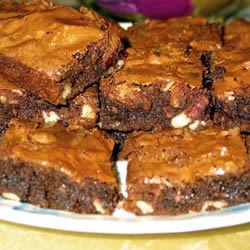 One Bowl Brownies Recipe - Moist, chocolate brownies made in one bowl. This is simply the best and easiest recipe out there.