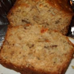Apple Cheese Quick Bread Recipe - Swiss cheese is a nice choice for this honey-sweetened loaf of apple-nut bread.