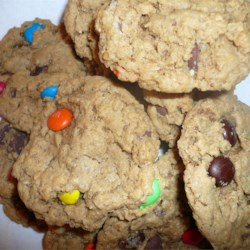 Monster Cookies V Recipe - There is no flour in this recipe and it makes a large batch.