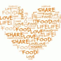 Share food, love and life