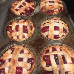 Cranberry Cherry Pie Recipe - This is my favorite recipe to make for the holidays.  It tastes too good to be this easy.  If you don't make your own dough, simply use dough mix or refrigerated crusts - it will taste just as delicious.