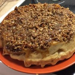 Upside-Down Apple Pecan Pie Photos - Allrecipes.com