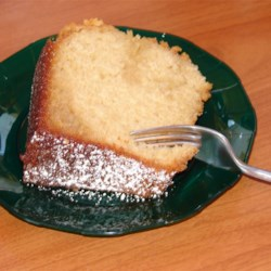 Susan's Butter Cake Recipe - This is the richest, most delicious pound cake you will ever eat. There is no substitute for real butter!
