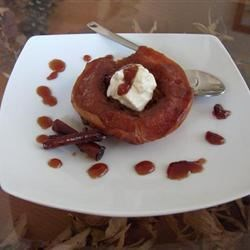 Baked Quinces with Cinnamon