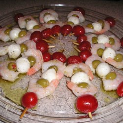 Italian Shrimp Skewers (Better)