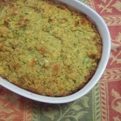 Grandma's Corn Bread Dressing Recipe and Video - Sage gives this corn bread dressing a wonderful aroma and flavor. You'll want to serve it year after year.