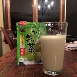 Matcha Frappe Recipe - This recipe, inspired by Starbucks Green Tea Frappuccino(R), blends matcha green tea powder, milk, vanilla syrup, and ice for a delicious cold drink.