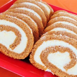 Cream Cheese Pumpkin Roll Recipe - This classic pumpkin roll has all your favorite pumpkin spices and a smooth cream cheese filling. It's the perfect fall dessert.