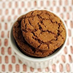 Big Soft Ginger Cookies Recipe - Made with a hint of molasses, these ginger cookies stay soft for days.