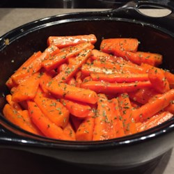 Brandy Glazed Carrots Recipe - A touch of brandy gives a simple carrot side dish a sophisticated taste. Best of all, it can be prepared 1 or 2 days in advance if needed.