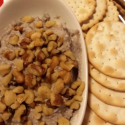 Blue Cheese, Port, and Walnut Spread Recipe - This spread keeps for 3 weeks if refrigerated.  Make to serve with bread or crackers for the Big Day, or keep it on hand for drop-in guests. Originally submitted to ThanksgivingRecipe.com.