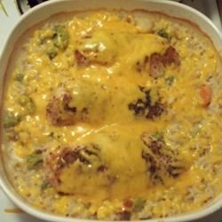 Campbell S R Cheesy Chicken And Rice Casserole Photos