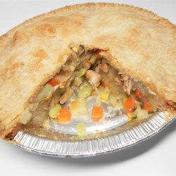 Homemade Chicken Potpie Recipe - Comfort food at its best, homemade chicken pot pie is a delicious and hearty family-pleasing meal on a cold night.