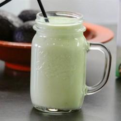 Avocado Milkshake Recipe - Avocado, milk, and sugar are blended together in this creamy avocado milkshake that kids and adults love.