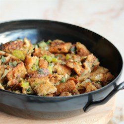 Gluten-Free Bomb-Diggity Stuffing Recipe - Now all the family members and friends can enjoy delicious gluten-free stuffing this Thanksgiving.