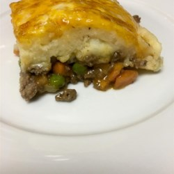 Irish Shepherd's Pie Recipe - Seasoned ground lamb and vegetables are baked under Irish Cheddar-mashed potatoes in Chef John's version of this comfort food classic.