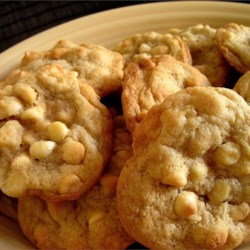 White Chocolate Macadamia Nut Cookies III Recipe - I was served this cookie at a restaurant in Springfield, MO during a business conference.  Went home and made up this recipe which has been a hit at any church gathering when I take them...better than the one I had at the conference.