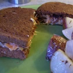 Tempeh Reuben Recipe - A satisfying, tangy sandwich that is a cinch to make.