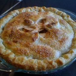 Apple Cream Pie
