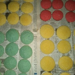 Christmas Pastels Recipe - These can be any flavor you want, the kids go nuts for them