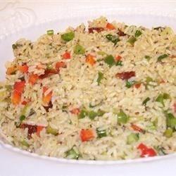 Lemon and Herbs Rice
