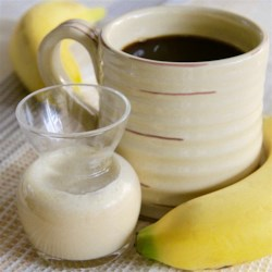 Banana Coffee Creamer Recipe - Homemade banana coffee creamer is an interesting and fruity addition to coffee and only requires 3 simple ingredients.
