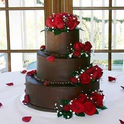 Pro Ganache on Wedding Cake