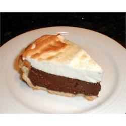 Bev's Chocolate Pie