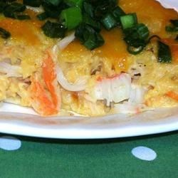 Cajun Crabmeat Au Gratin Recipe - This rich, cheesy crab dish is packed with flavor!