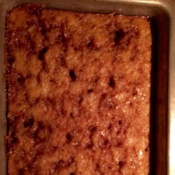Granny Cake I Recipe - This cake recipe is easy to make, using pineapple for a fruity cake and also makes a glaze that helps deliver a cake that is very moist.