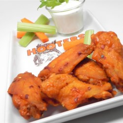 JB Buffalo Wing Sauce Recipe - Hot sauce, butter, and plenty of pepper are simmered together in this quick and easy Buffalo wing sauce recipe.