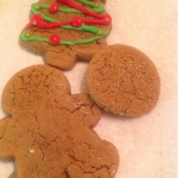 Molasses Cookies VI Recipe - This is a great replacement for the standard gingerbread recipe.  The cookies turn out soft, and the flavor is not sharp or hot.  It has been a family tradition with my family throughout every holiday season.