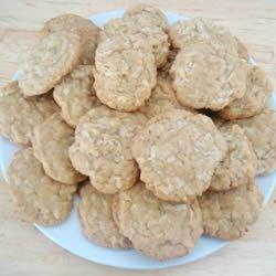 amazing chewy coconut cookies