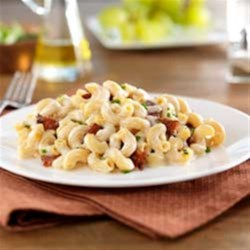 Gluten Free Elbows Fontina Mac and Cheese with Bacon