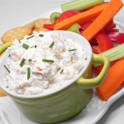 Ship Island Shrimp Dip Recipe - A creamy and delicious dip that is very easy to make and is always a hit!  It is even better the second day. Serve with potato chips, crackers or fresh vegetables for dipping.