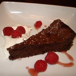 Chocolate Decadence Cake I Recipe - This is the richest chocolate cake ever! Any questions?