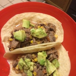 Slow Cooker Venison Burritos Recipe - My family are big-time hunters. I am always looking for tasty, healthy ways to prepare the game in my freezer. This is one of my favorite options for using up the sometimes tough round steaks - and it couldn't be more simple! It is also great with elk and beef.