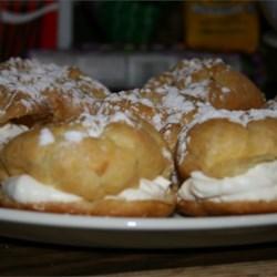 mom's cream puff recipe