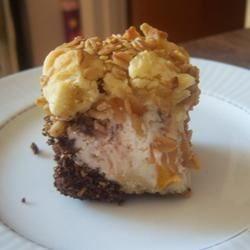 Peaches 'n Cream Sugar Cookie Bar